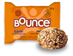 Bounce - Protein Energy Balls - Almond (12x42g)