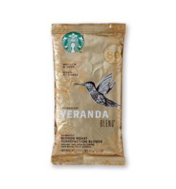 Starbucks Coffee - Pouches - Veranda (18x2.5oz)