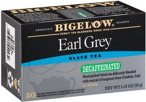 Bigelow - DECAF Earl Grey (20 bags)