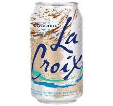 La Croix Sparkling Water - Coconut (8x355ml)