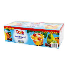 Dole Fruit Salad with Extra Cherries (20 x 107ml)