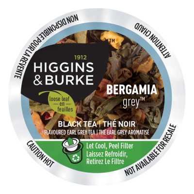 Higgins & Burke - Tea - Loose Leaf - Bergamia Grey  (24 pack)