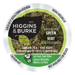 Higgins & Burke - Tea - Loose Leaf - Lemongrass Green (24 pack)