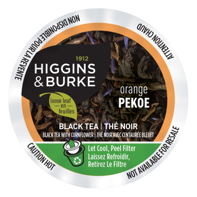 Higgins & Burke - Tea - Loose Leaf - Orange Pekoe (24 pack)