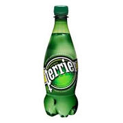 Perrier Sparkling Mineral Water (Plastic) (24x500ml)
