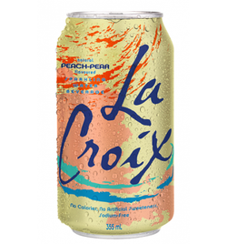 La Croix Sparkling Water - Peach-Pear (8x355ml)