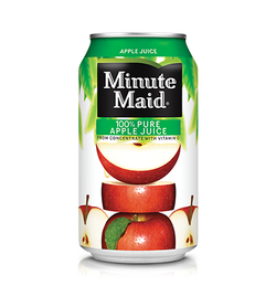 Minute Maid - Apple Juice (24x341ml)
