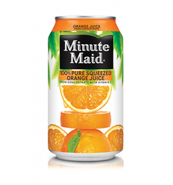 Minute Maid - Orange Juice (24x341ml)