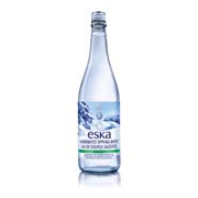 Eska Sparkling Spring Water (Glass) (12x750ml)