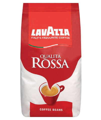 Lavazza - Whole Bean - Rossa Espresso Beans (1kg) - Coffee