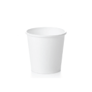 E2E - 4oz Espresso White Cups (sleeve of 50)