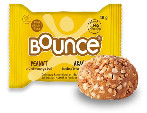 Bounce - Protein Energy Balls - Peanut (12x42g)