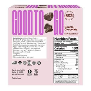 Good to Go - Double Chocolate Snack Bar (9 x 40g)