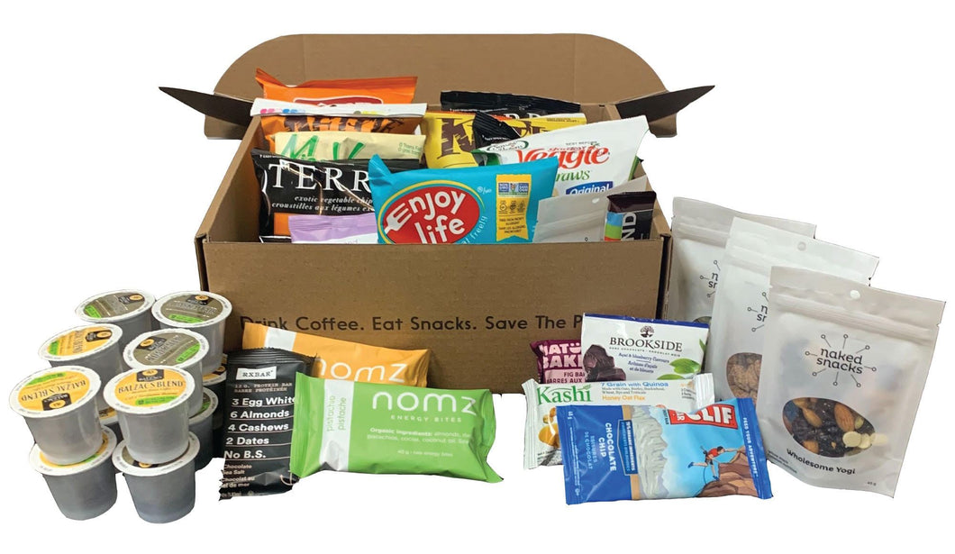 Work-From-Home Box (Snacks+Keurig) (various sizes)