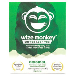 Wize Monkey - Coffee Leaf Tea - Original (15 bags)