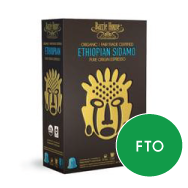 Barrie House - Organic Ethiopian Sidamo - Nespresso Compatible (10 pack)