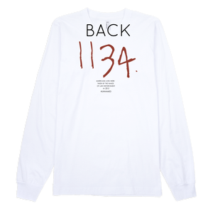 Can I Live Long Sleeve Tee - WHITE
