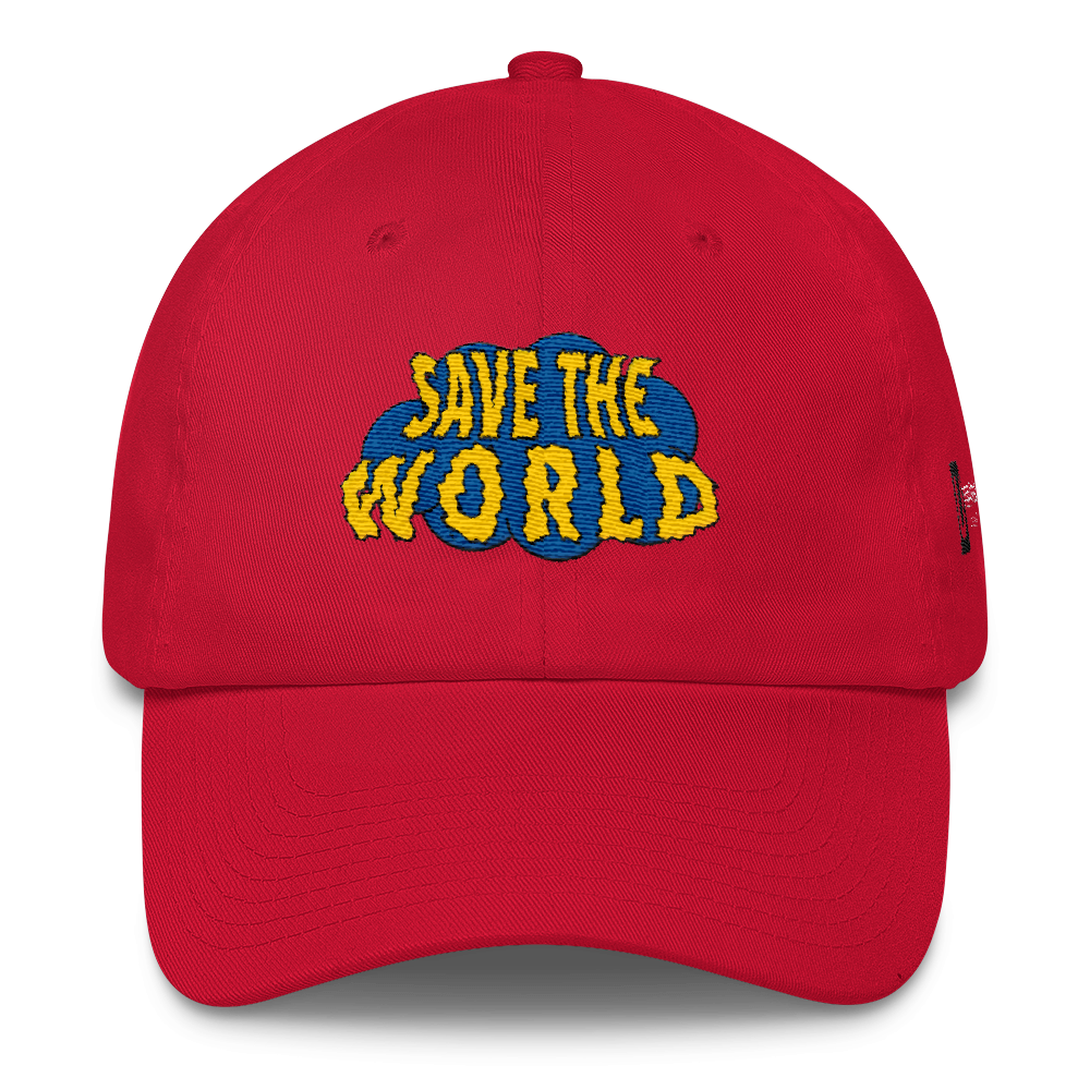 Save The World (Red)