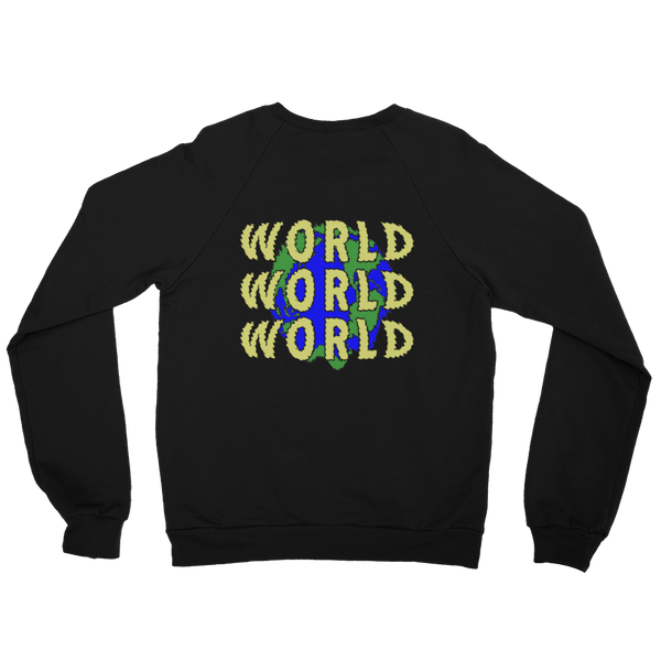 Save The World Crew Neck Sweater