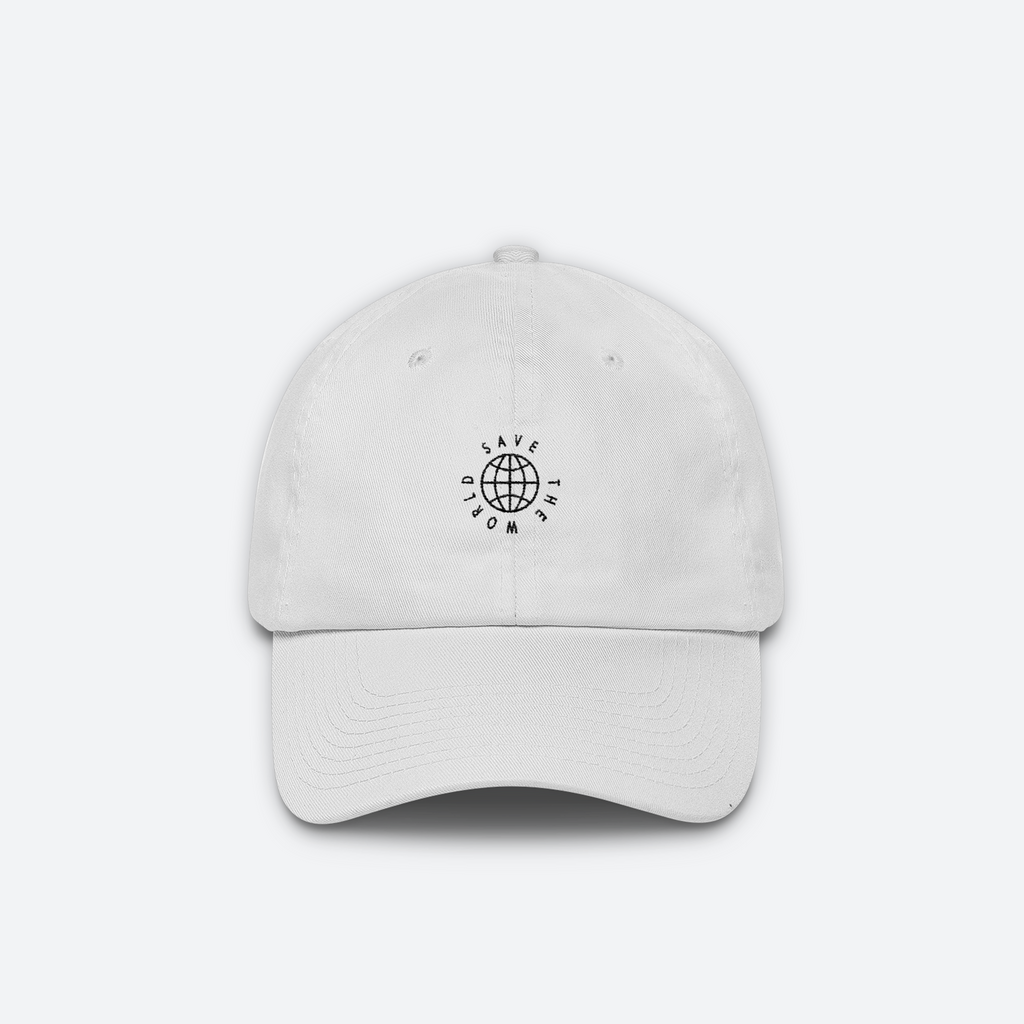SAVE THE WORLD cap (WHITE)