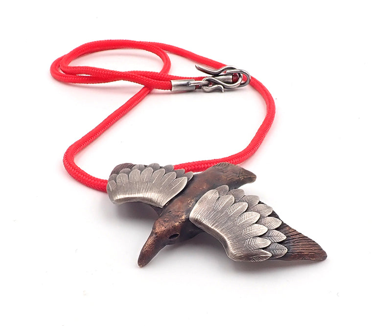 Lisa West petrel necklace pendant bird