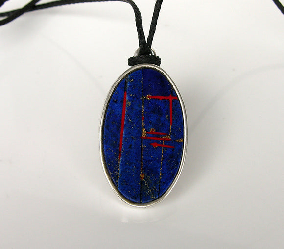 Mosaic Lapis Necklace
