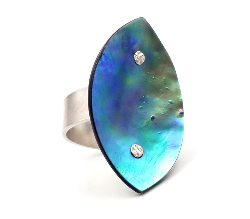 Pacific Mandorla Ring