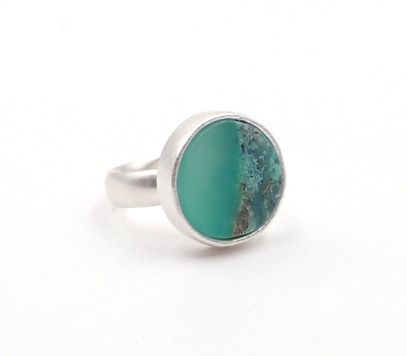 Brian Adam chrysoprase ring