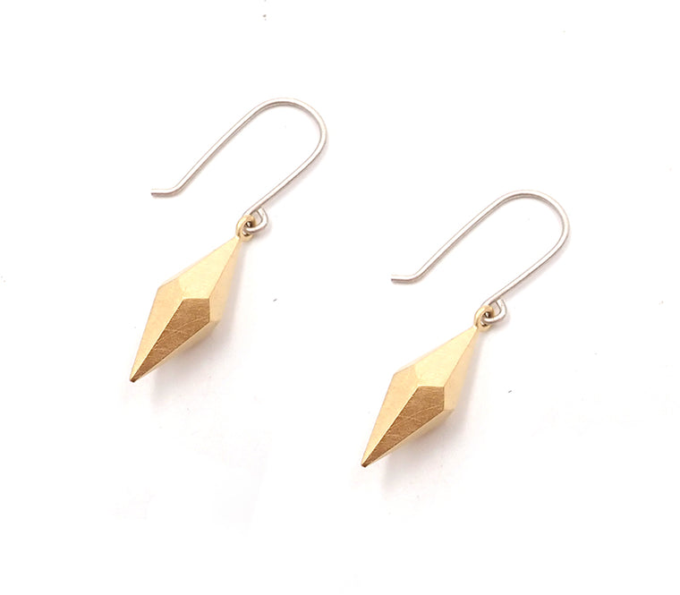 Kate Alterio gold plated sterling silver earrings nz jewellery