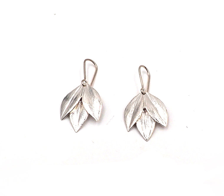 Silver Athena Earrings