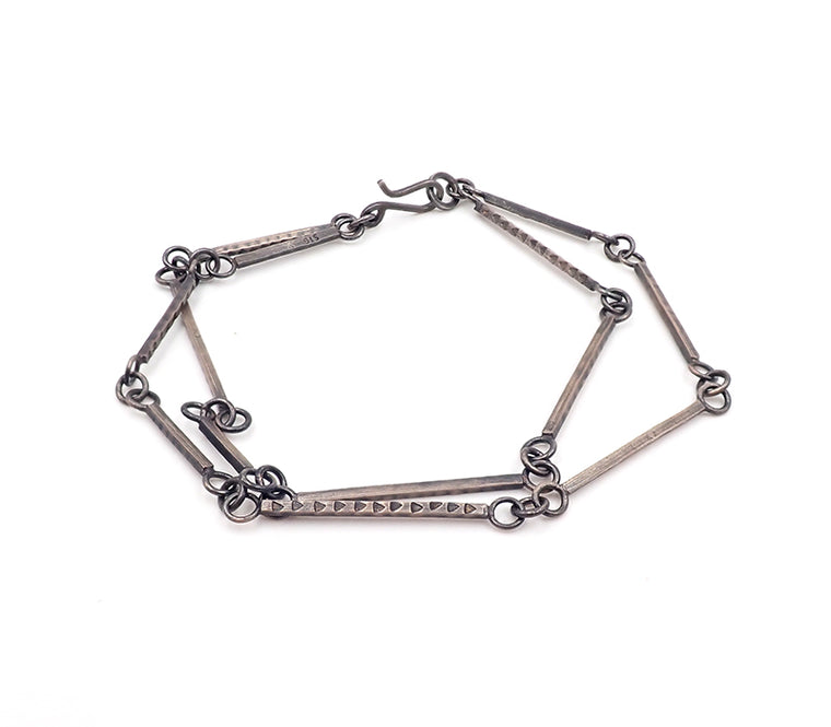 Triangle Punch Double Bracelet