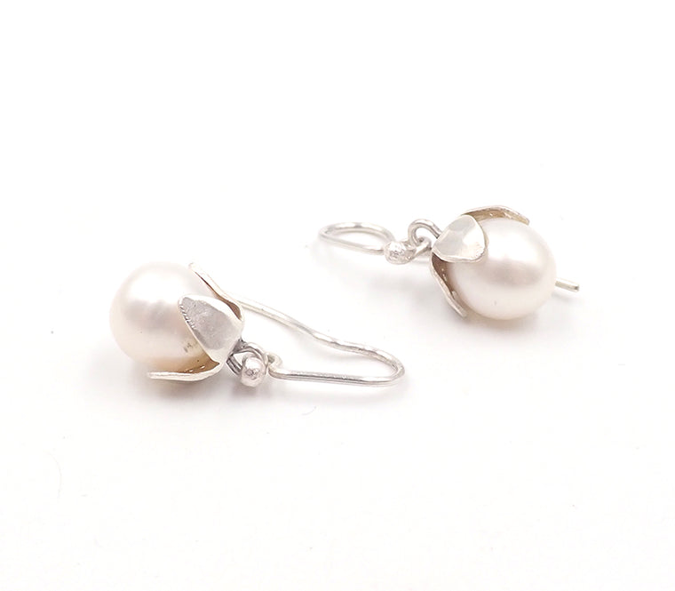 white nightshade earrings Penelope barnhill