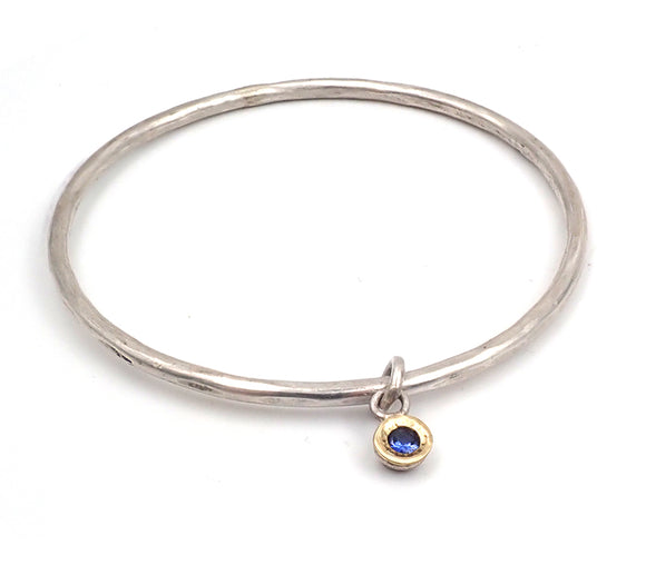 What Goes Around Sapphire Bangle