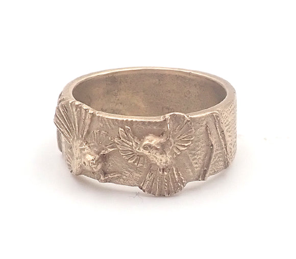 Gold 'The Dance' Fantail Ring