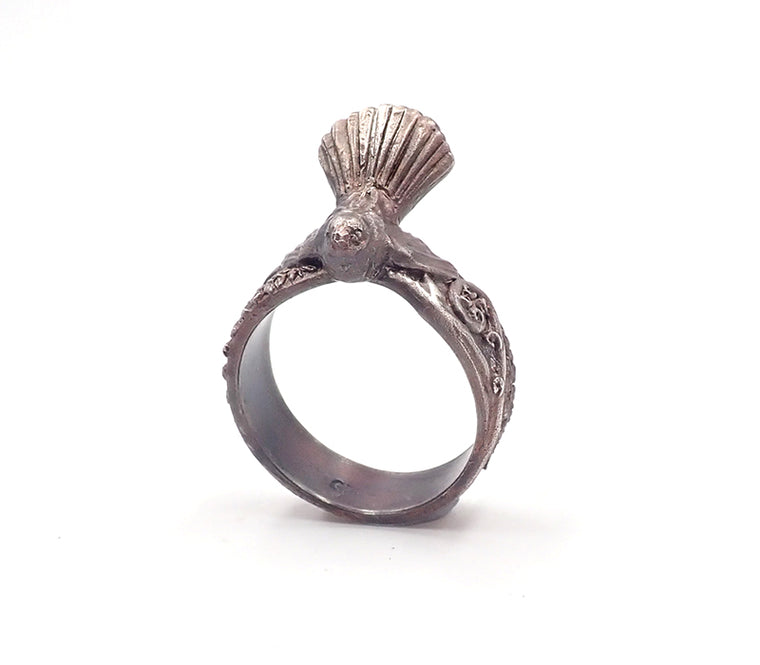 Aaron Brown fantail ring