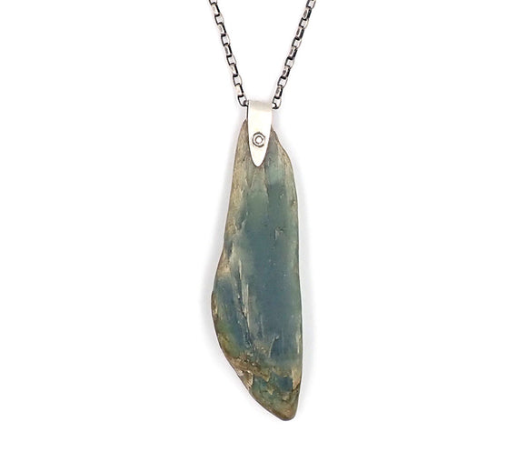 Natural Inanga Pebble Pendant