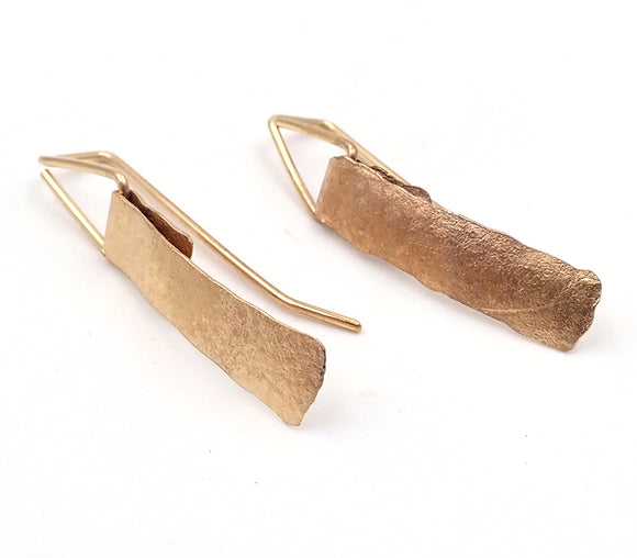 Ilse-Marie Erl folded earrings