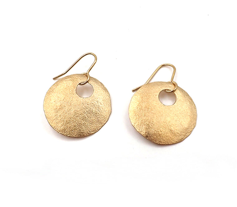 Small Disk Earrings
