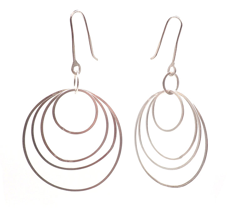 bubble earrings sterling silver nz jewellery