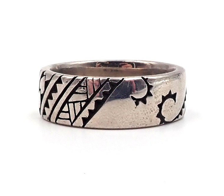 Pacific Tattoo Design Ring