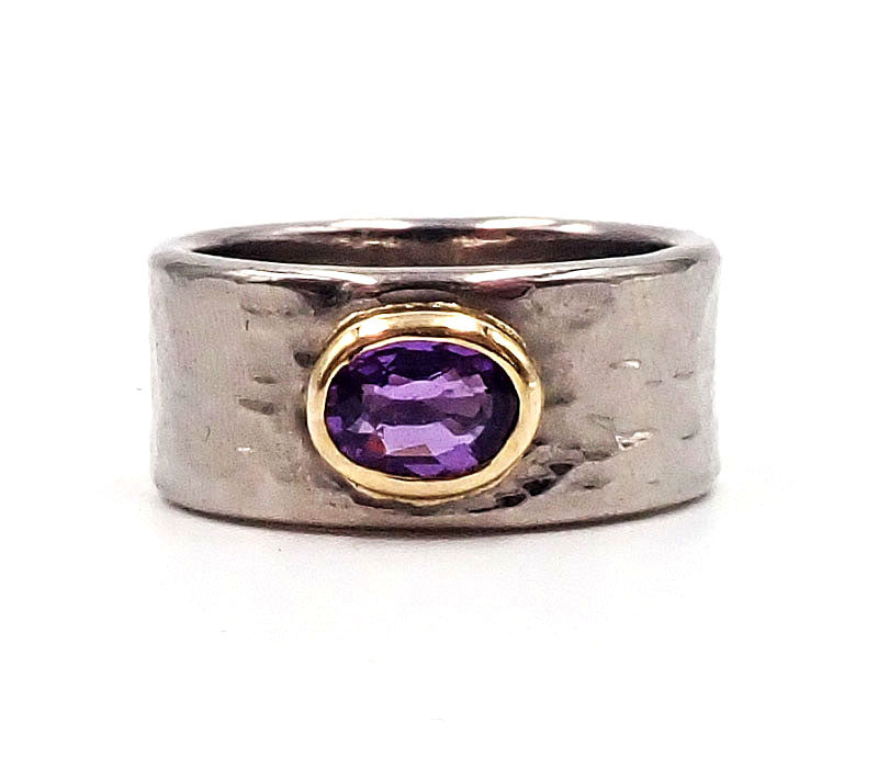Oval Sapphire Band