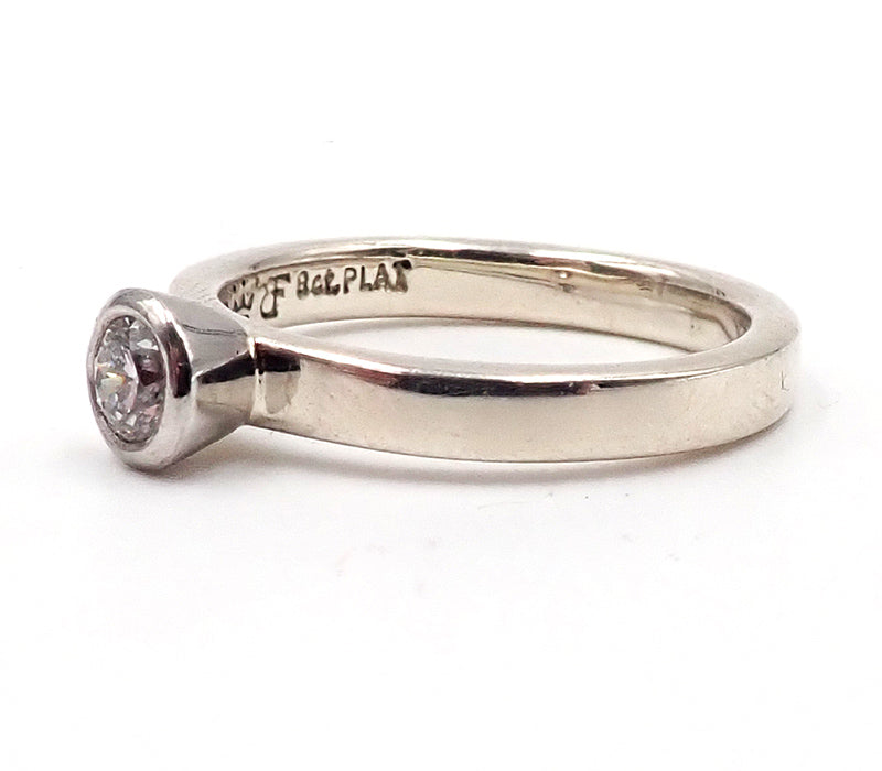 Platinum and White Gold Diamond Ring