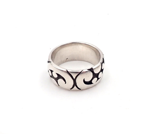 Wide Fern Ring