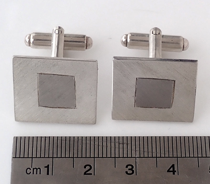 Palladium & Sterling Silver Cufflinks