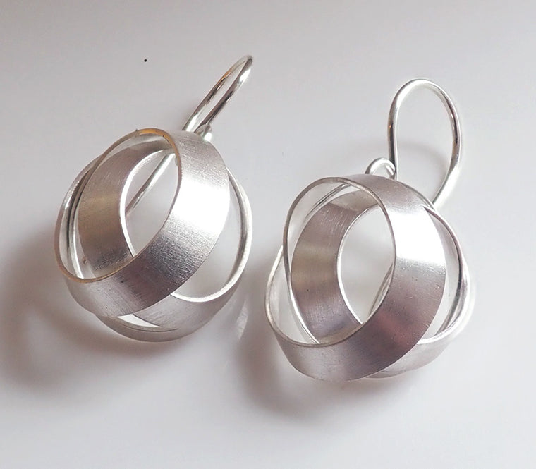 Basket Loop Earrings