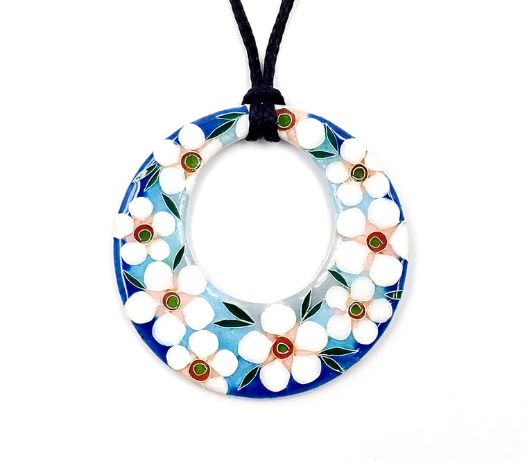 Blue Manuka Ring Pendant