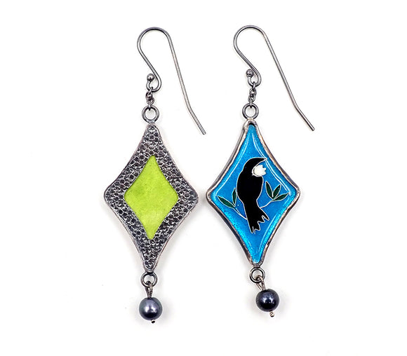 Light Blue Tui Earrings