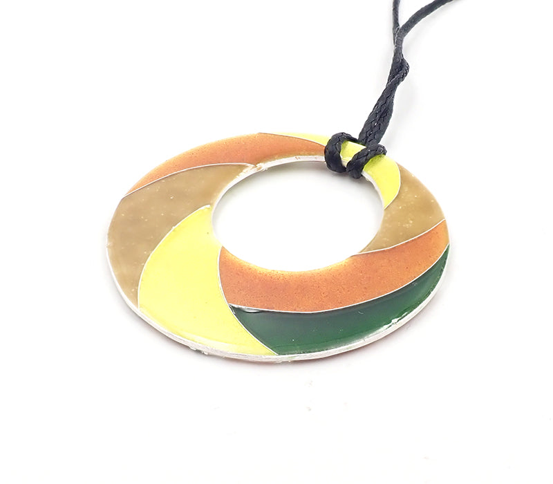 Orange Manuka Ring Pendant