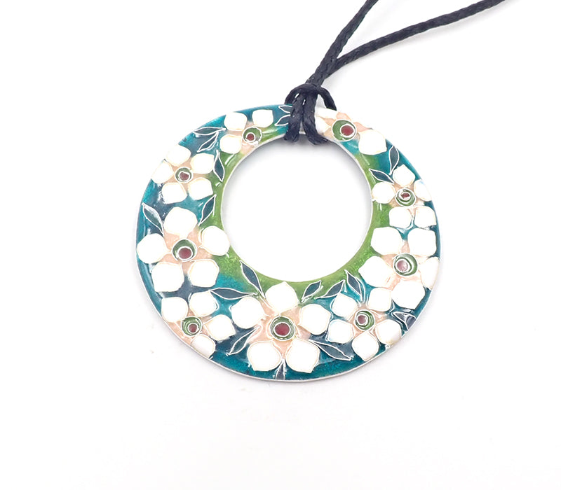 Green Manuka Ring Pendant