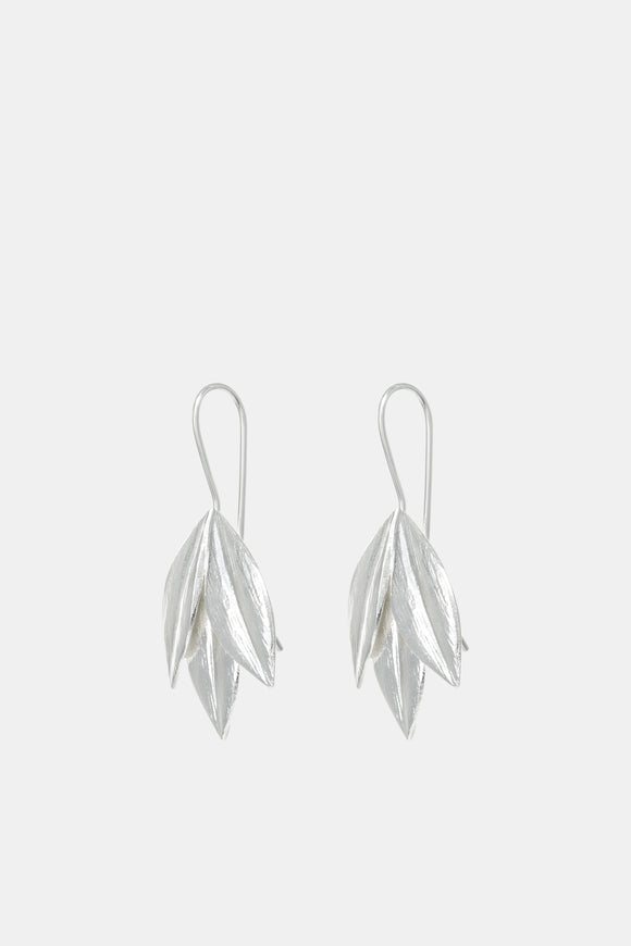 Royal Jewellery Studio Kiri Schumacher Silver Athena earrings